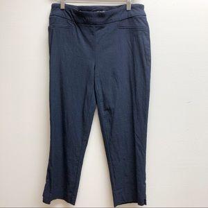 Hilary Radley medium stretchy pants cropped